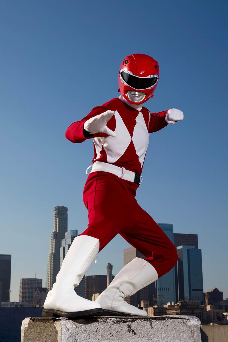 Superhero power ranger party character for kids in fort lauderdale